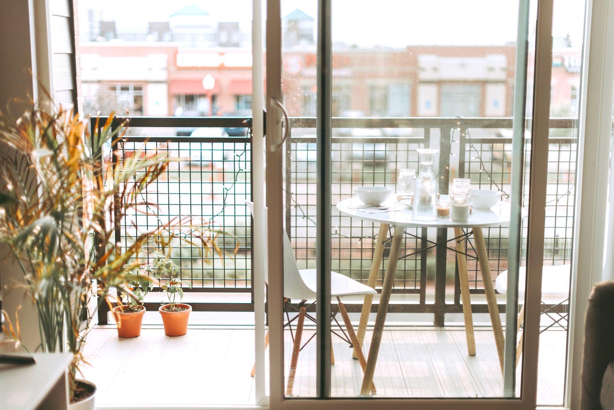 Een balkon om van te genieten